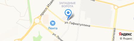 Москва на карте Альметьевска