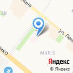 Скорая медицинская помощь на карте Альметьевска