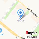 Колобок на карте Альметьевска