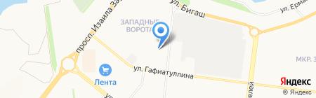 Разливные напитки на карте Альметьевска