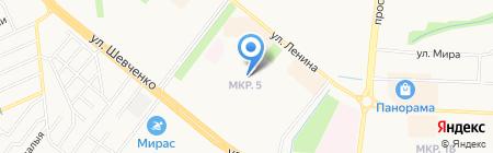 Арыш Мае на карте Альметьевска
