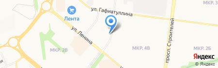 Эко-мебель на карте Альметьевска