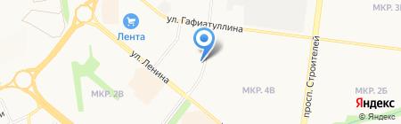 Салон на карте Альметьевска