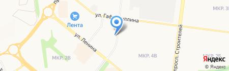 Диван диваныч на карте Альметьевска