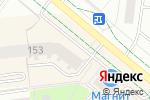 Схема проезда до компании Нур-Пласт в Альметьевске