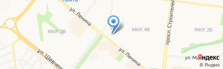 Банкомат СБЕРБАНК РОССИИ на карте Альметьевска