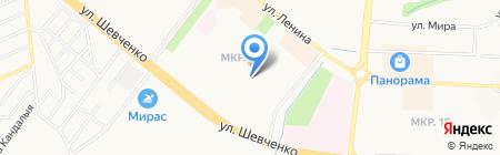 Илназ на карте Альметьевска