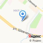 Лесо-Нефтестрой на карте Альметьевска