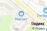 Схема проезда до компании Evita в Альметьевске