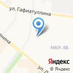 Министерство экологии и природных ресурсов Республики Татарстан на карте Альметьевска