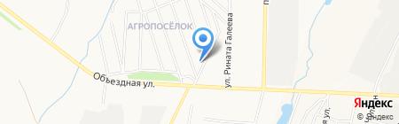 Детский сад №59 Солнечная страна на карте Альметьевска