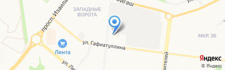 Оазис на карте Альметьевска