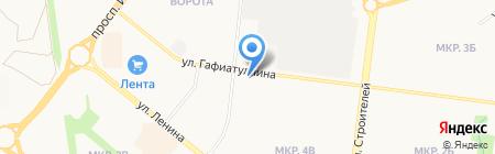Сеть платежных терминалов АБ Девон-кредит на карте Альметьевска