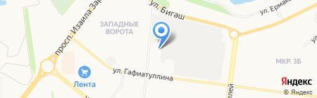Отдел надзорной деятельности по Альметьевскому муниципальному району на карте Альметьевска