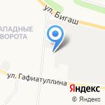 Пожарная часть №65 на карте Альметьевска