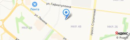Сеть платежных терминалов Автоградбанк на карте Альметьевска
