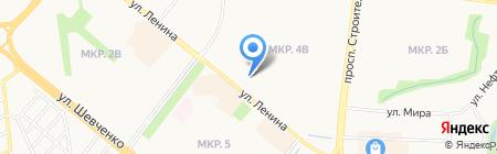 Снимок на карте Альметьевска