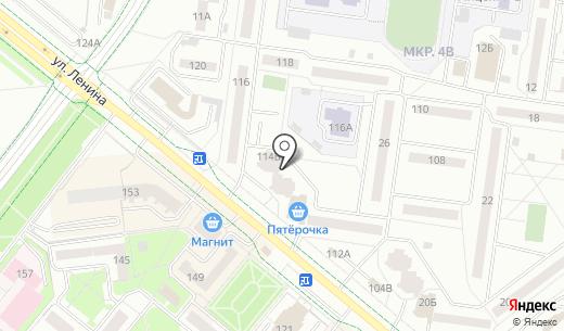 Профи. Схема проезда в Альметьевске