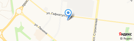 Лана на карте Альметьевска