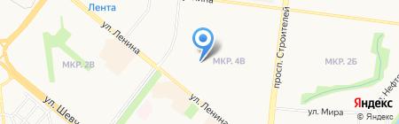Леди-Эль на карте Альметьевска
