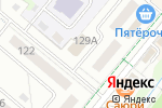 Схема проезда до компании Comepay в Альметьевске