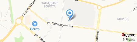 Автостекольщик на карте Альметьевска