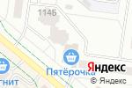 Схема проезда до компании Чебоксарский трикотаж в Альметьевске