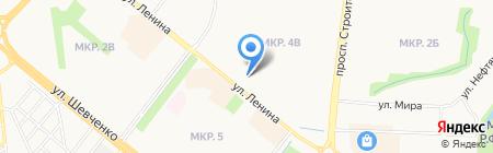 Дарэль на карте Альметьевска