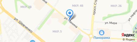 Лилия на карте Альметьевска