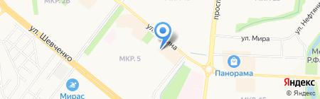 Магазин бижутерии и косметики на карте Альметьевска