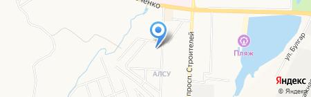 Детский сад №22 Алсу на карте Альметьевска