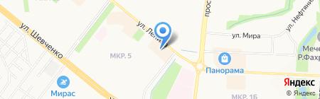 Комфорт-1 на карте Альметьевска
