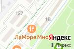 Схема проезда до компании L`amore Mio в Альметьевске