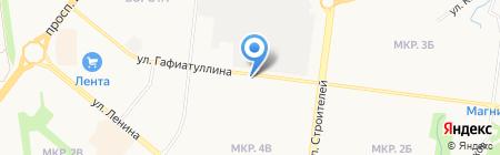 Лиана на карте Альметьевска