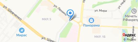 ПИОНЕР на карте Альметьевска