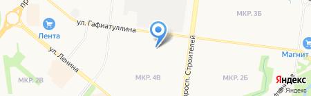 Детский сад №51 Радуга на карте Альметьевска