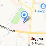 Альметьевская центральная районная больница на карте Альметьевска