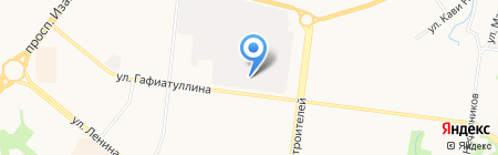 Столовая на карте Альметьевска