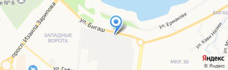 КАМА-ЭКСПРЕСС на карте Альметьевска
