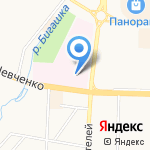 Республиканский клинический онкологический диспансер на карте Альметьевска