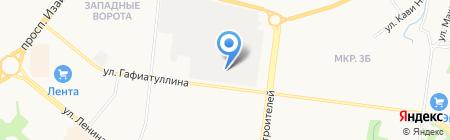 Банкомат Россельхозбанк на карте Альметьевска