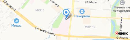 Альметьевская детская больница на карте Альметьевска