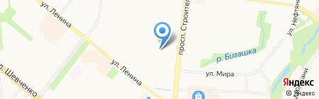 Морячок на карте Альметьевска