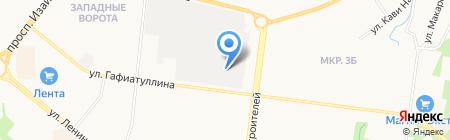 Диар на карте Альметьевска