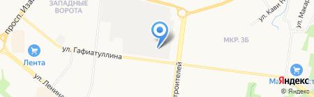 Форвард на карте Альметьевска