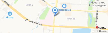 Кстати на карте Альметьевска