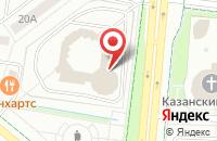 Схема проезда до компании Издательский Дом Исток в Альметьевске