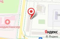 Схема проезда до компании Сияние в Альметьевске