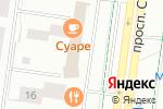 Схема проезда до компании Леонардо в Альметьевске