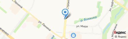 Банк ВТБ на карте Альметьевска